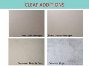 CLEAF ADDITIONS 2